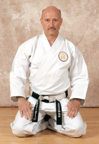 Hanshi-Sei Richard Bernard, 10th Dan, President of Shidokan International